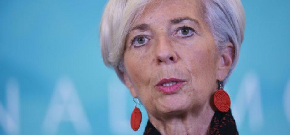 La directrice du Fonds monétaire international, le 30 novembre 2015 à Washington  © AFP/Archives MANDEL NGAN