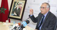 Conférence de presse tenue par M Omar Azziman