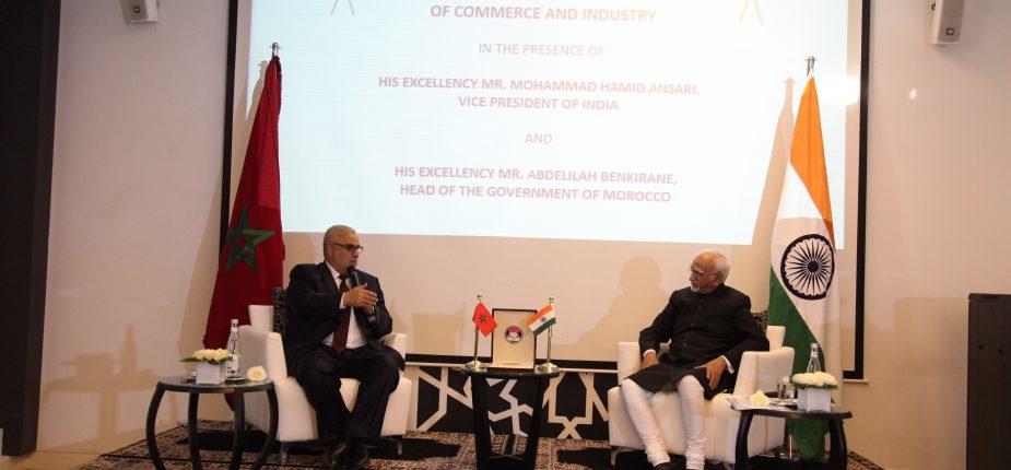 La chambre de commerce et d 39 industrie maroco indienne voit for Chambre de commerce franco indienne