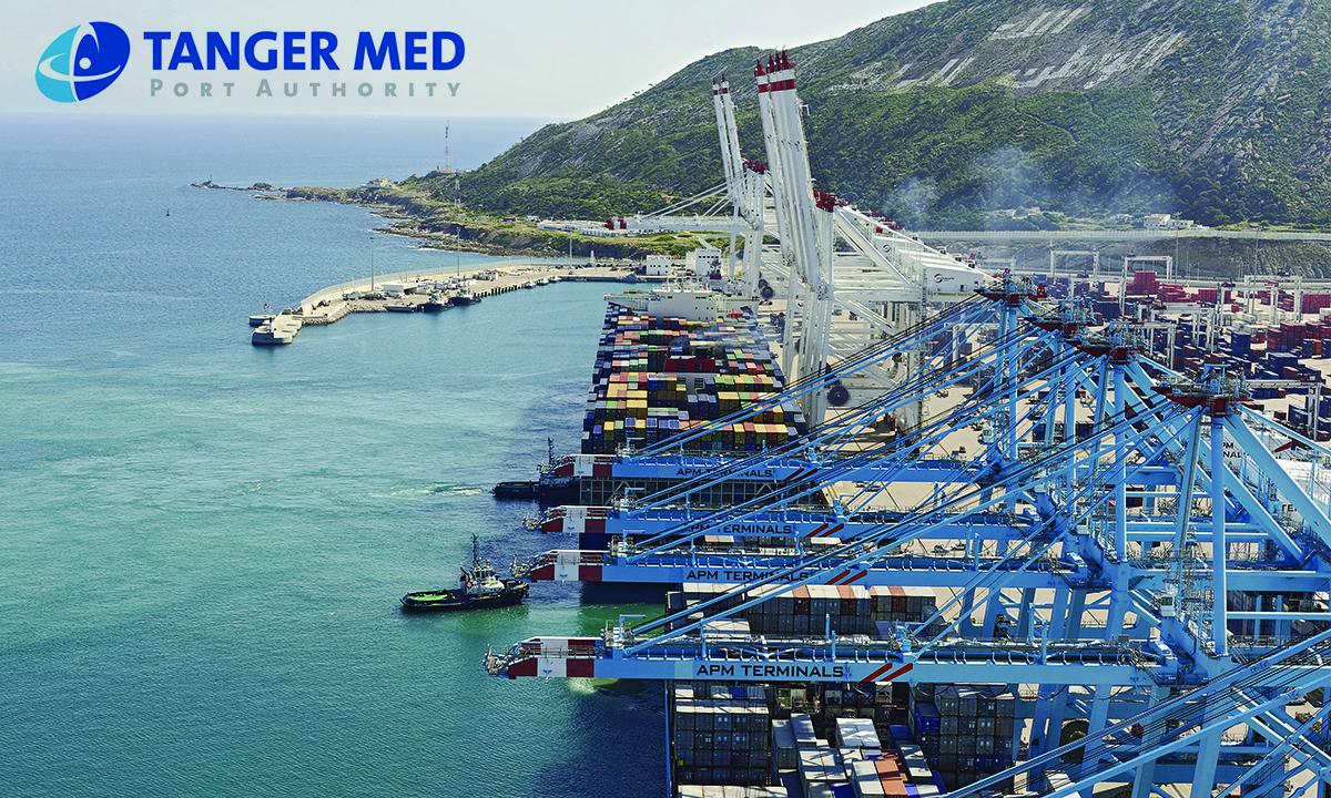 Le plus grand porte conteneurs du monde en rade tanger med la nouvelle tribune - Plus grand porte conteneur du monde ...