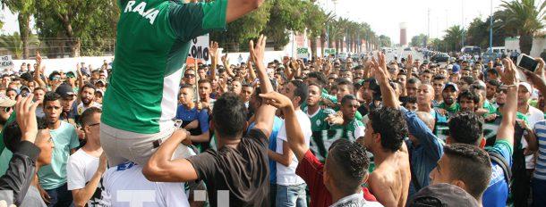 Les supporters du RAJA protestent (déjà) conte Said Housbane...