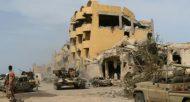 Les forces loyales au gouvernement libyen d'union nationale ont lancé une offensive à Syrte, contre l'EI le 12 mai 2016  © AFP/Archives Mahmud Turkia