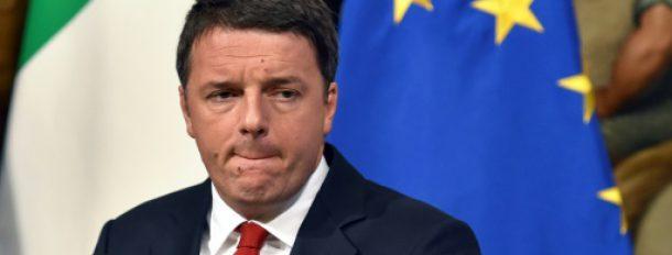 Matteo Renzi lors d'une conférence de presse au Palazzo Chigi à Rome, le 28 novembre  © AFP/Archives Andreas SOLARO