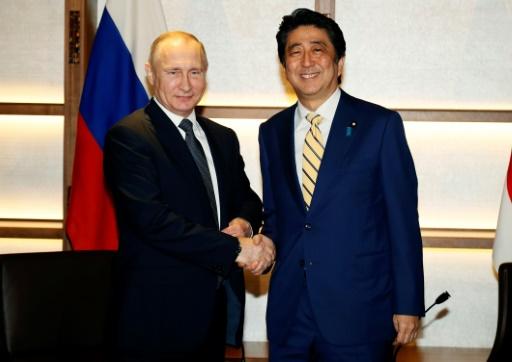 Poutine en visite à Tokyo