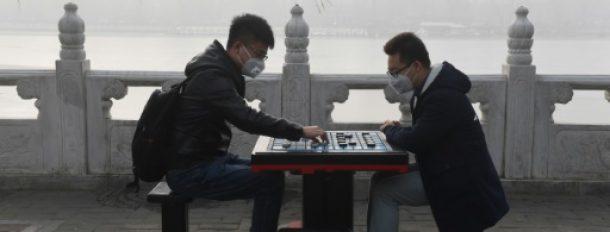 Au matin du 1er janvier 2017 à Pékin  © AFP GREG BAKER