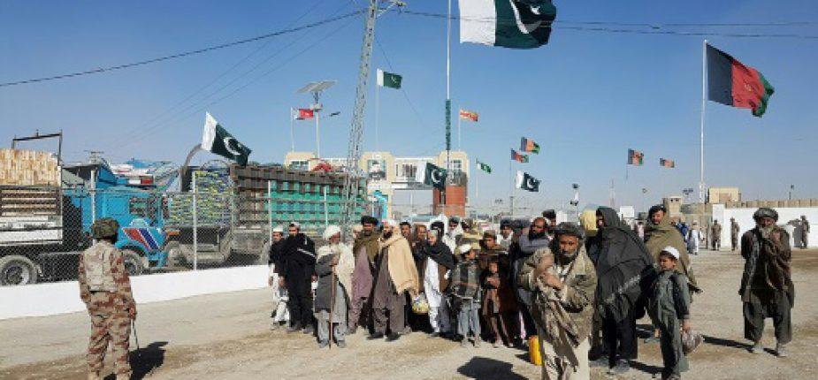 Sécurité renforcée à Chaman, à la frontière pakistano-afghane, le 7 janvier 2017  © AFP Issam AHMED