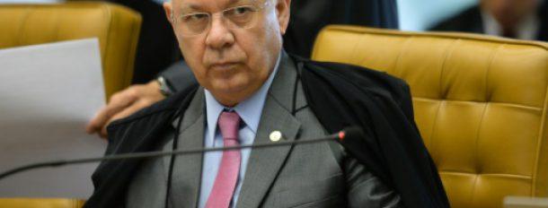 Le juge brésilien de la Cour suprême Teori Zavascki à Brasilia, le 31 mars 2016  © AFP Andressa Anholete