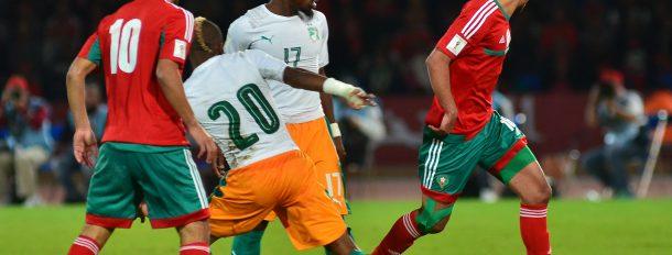 Match entre le Maroc et la Côte d'Ivoire dans le Grand Stade de Marrakech