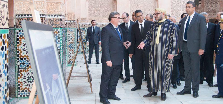 Le Roi lance d'importants projets destinés à la préservation du patrimoine historique de l'ancienne médina de Marrakech