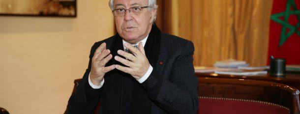 Le président de la CSEFRS, Abdeljalil Lahjomri accorde un entretien à la MAP