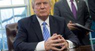 Le président américain Donald Trump à Washington, le 23 janvier 2017  © AFP SAUL LOEB