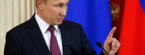 Le président russe Vladimir Poutine à Moscou, le 17 janvier 2017  © POOL/AFP Sergei Ilnitsky