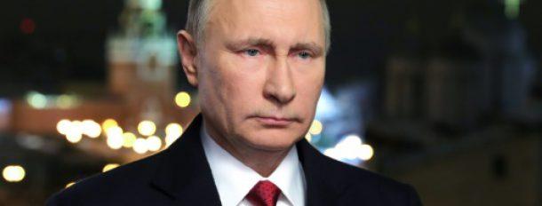 Le président russe Vladimir Poutine, le 31 décembre 2016 au Kremlin, à Moscou  © Sputnik/AFP/Archives Mikhail KLIMENTIEV