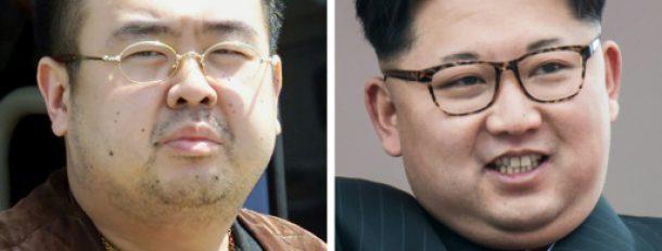 Kim Jong-Nam (G), le 4 mai 2001, et Kim Jong-Un (D), le 10 mai 2016  © AFP/Archives Toshifumi KITAMURA, Ed JONES