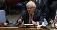 L'ambassadeur russe à l'ONU, Vitali Tchourkine, à New York, le 31 décembre 2016  © AFP KENA BETANCUR