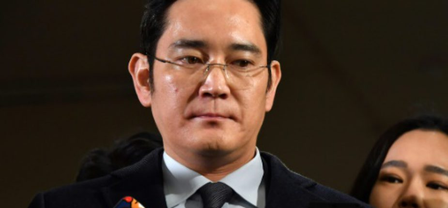 Lee Jae-yong, l'héritier de l'empire Samsung, est accusé comme son père et son grand-père de corruption et d'évasion fiscale  © POOL/AFP/Archives JUNG Yeon-Je