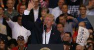 Donald Trump lors de son meeting à Melbourne, en Floride, le 18 février 2017  © GETTY IMAGES NORTH AMERICA/AFP/Archives JOE RAEDLE