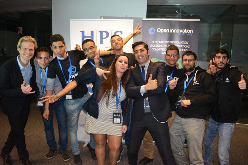 L'équipe de ScreenDY en compagnie du modérateur de l'événement, Tarik Mounim !