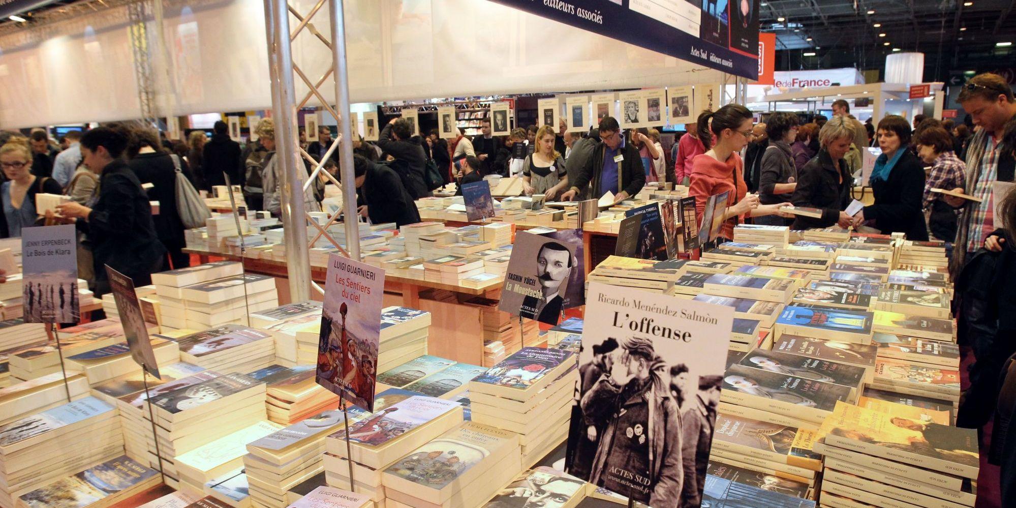 La fondation alliances prim e au salon du livre de paris for Salon du ce paris