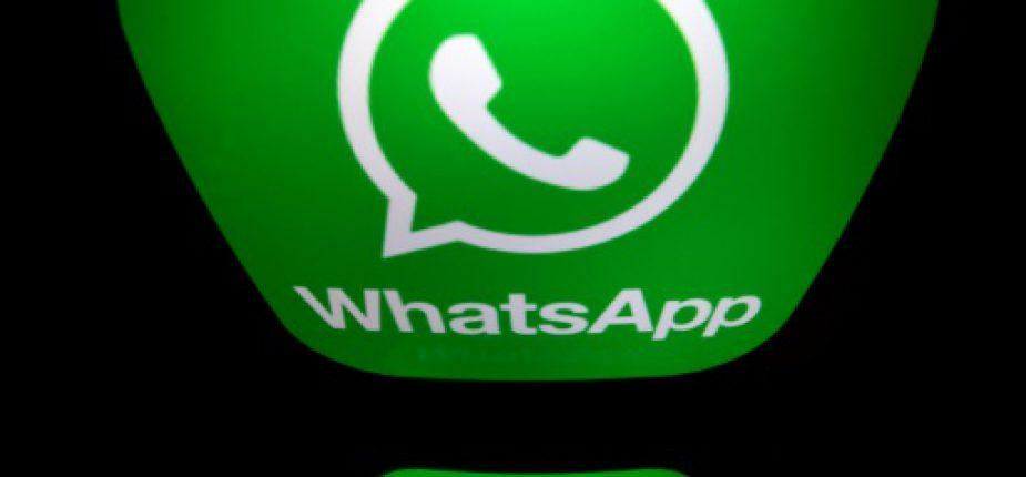 WhatsApp, filiale de Facebook, est l'un des services de messagerie instantanée les plus populaires du monde  © AFP Lionel BONAVENTURE