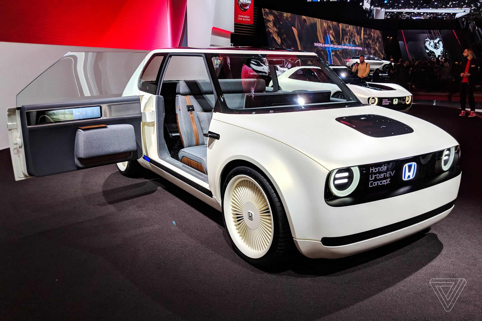Le concept car Honda Urban Ev élu « meilleur concept de l ...