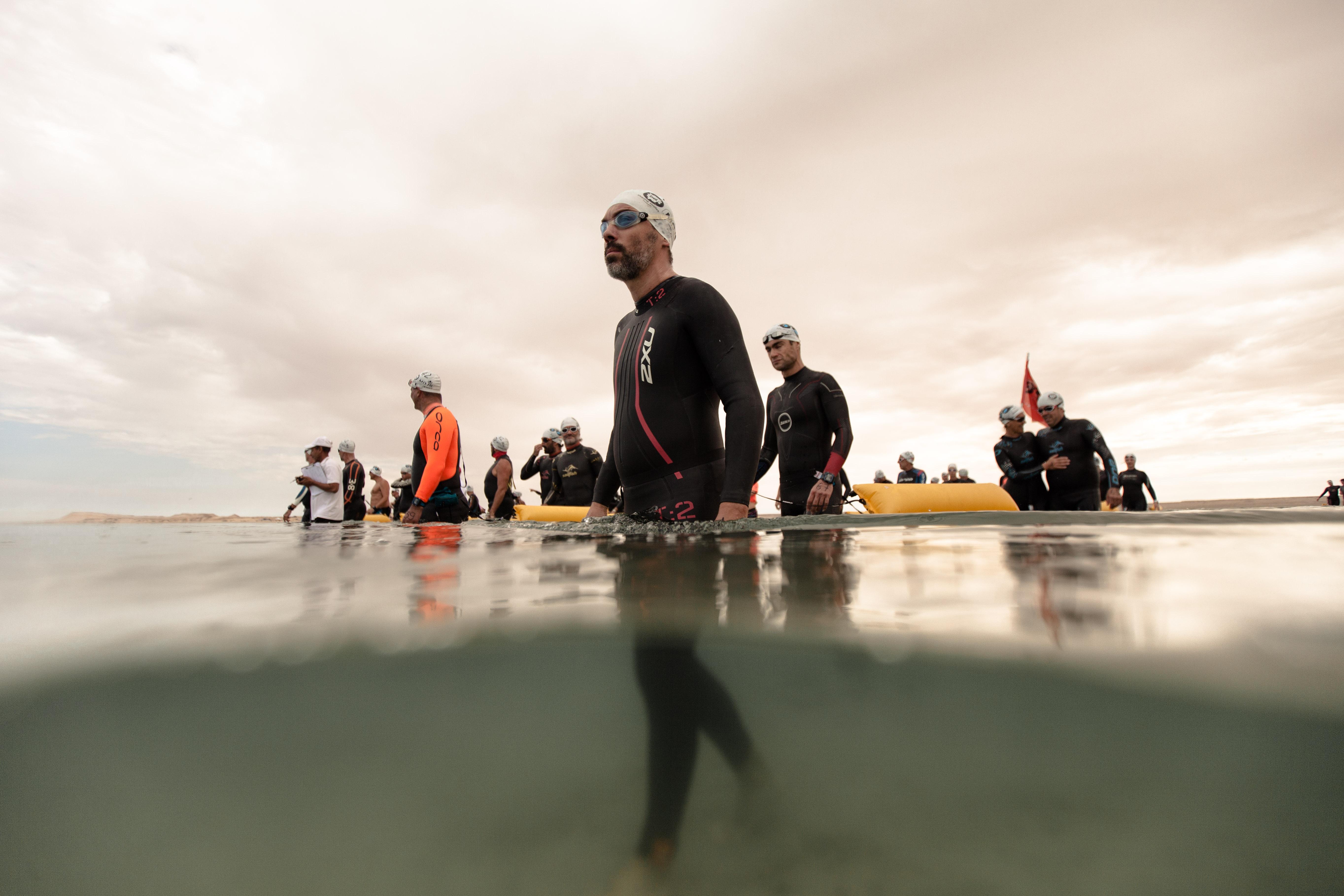 Des nageurs de Laayoune au Morocco Swim Trek !
